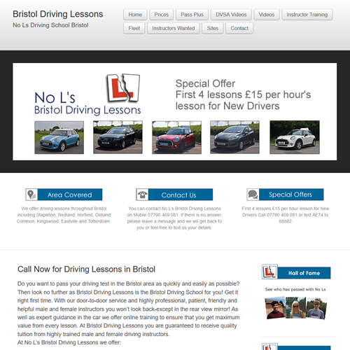 No Ls driving school