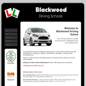 Blackwood Driving School