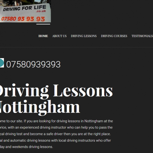 Driving for Life Nottingham driving school