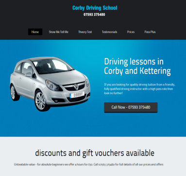 Corby driving school